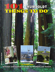 magazine cover of 101 humboldt things to do