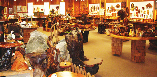 photo of burl n' drift gift shop